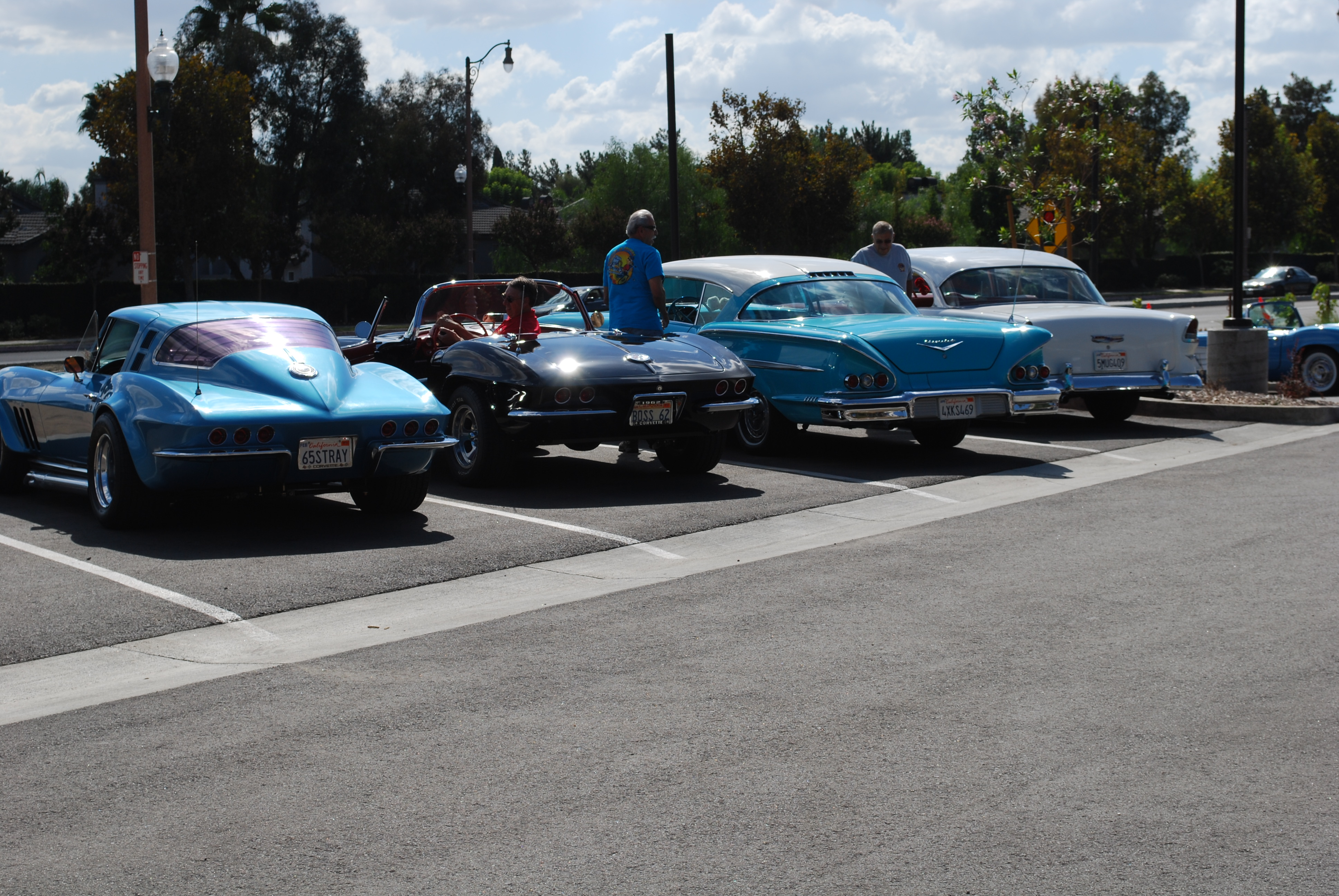 Staré autá na Historic Route 66