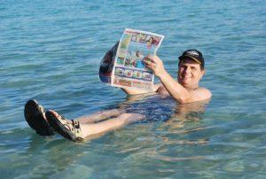 Pohoda v Mŕtvom mori
