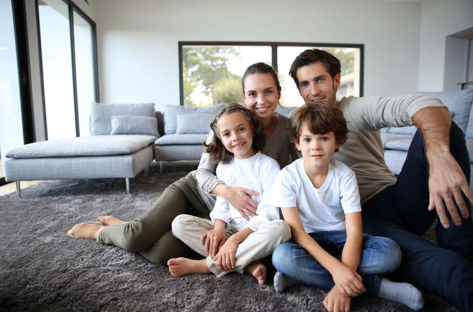 Šťastná slovenská rodina