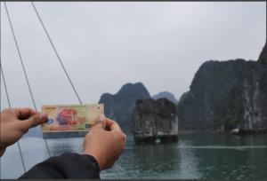 Príroda na bankovke, Halong Bay, Vietnam