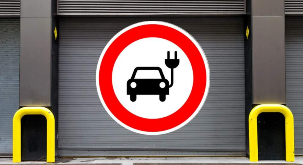 Zákaz vjazdu elektromobilov